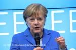 Bundeskanzlerin Angela Merkel auf der CeBIT 2016, (c) G. Oberheide